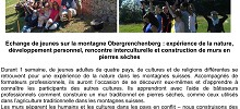 Camps de jeunesse - interculturel